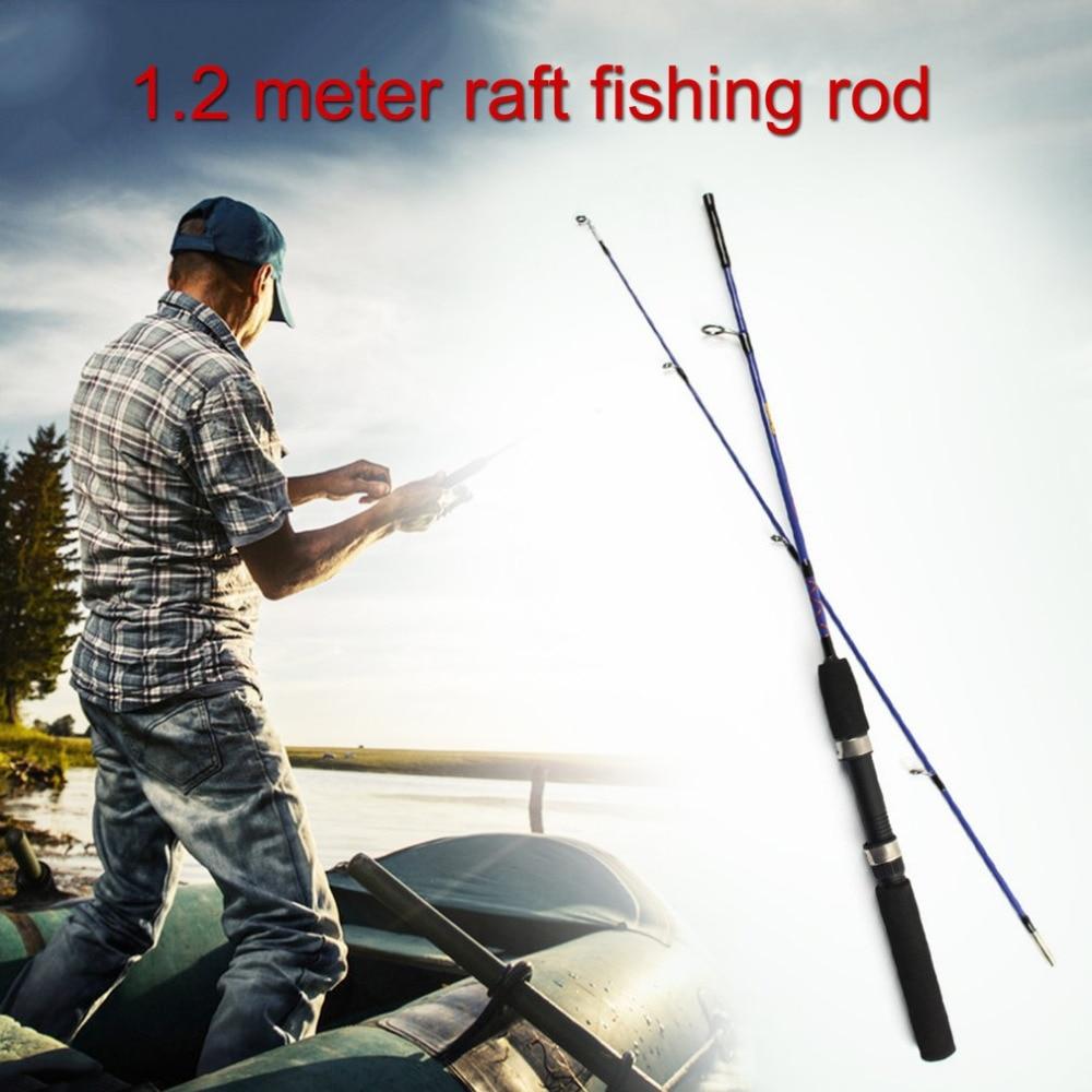 metros portátil jangada vara de pesca linha