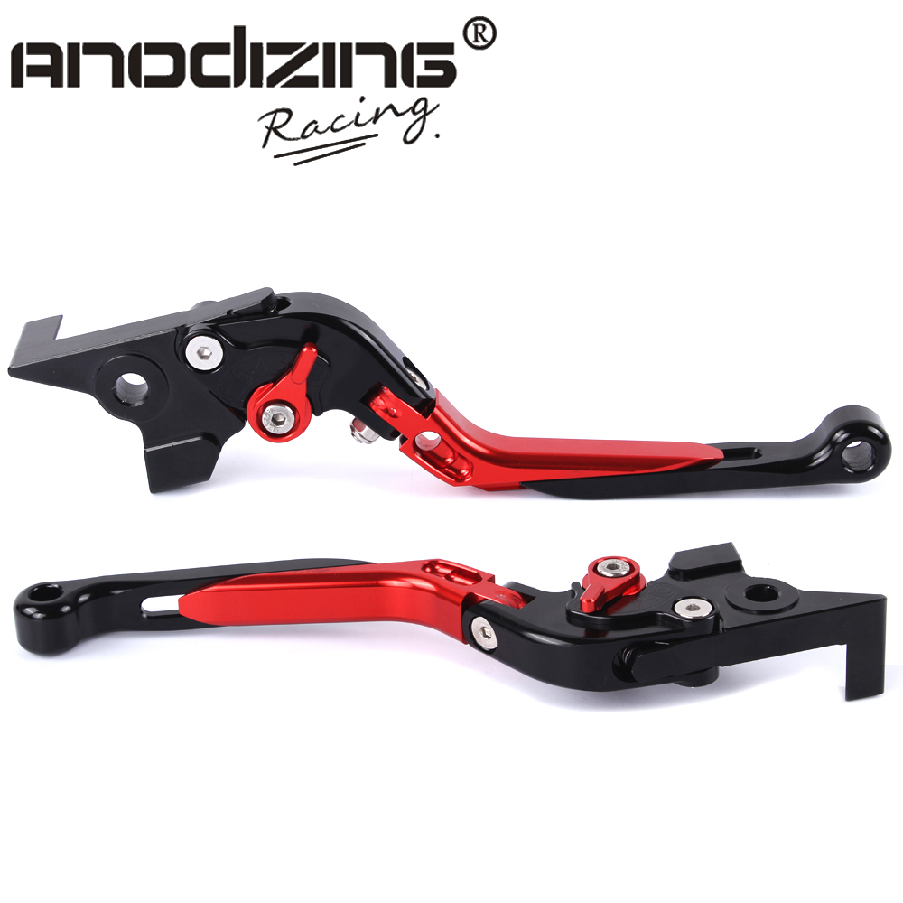 F-16 DC-80 Adjustable CNC 3D Extendable Folding Brake Clutch Levers For MOTO GUZZI Breva 1100 NORGE 1200/GT8V adjustable cnc aluminum clutch brake levers with regulators for moto guzzi breva 1100 2006 2012 1200 sport 07 08 09 10 11 12 13