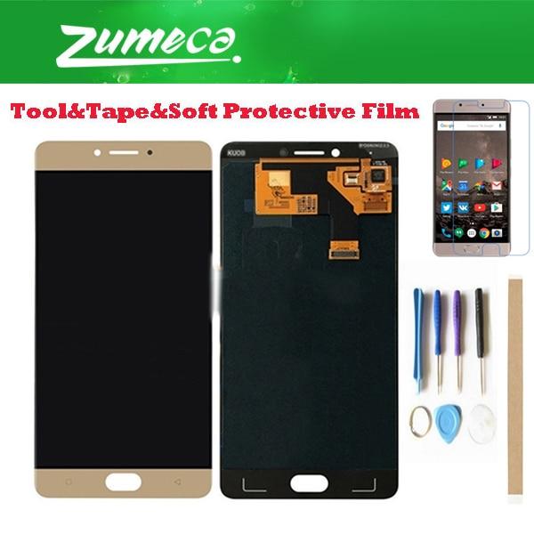 Haute qualité pour Gionee M6 haute puissance d'écran 5 Max haute puissance d'écran cinq Max écran LCD + écran tactile numériseur couleur or + Kits