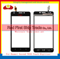 "10Pcs/lot High Quality 5.0"" For Huawei Ascend Y635 Touch Screen Digitizer Sensor Front Glass Lens Panel Black White+Tracking"