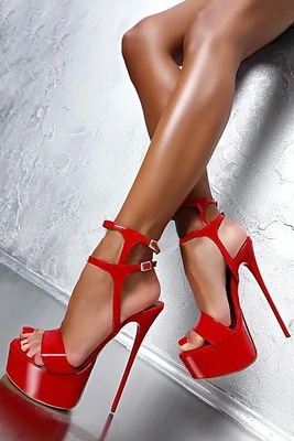 HTB1y.8WL4TpK1RjSZR0q6zEwXXay Women High Heels Sandals 16cm Sexy Stripper Shoes Party Pumps Shoes Women Gladiator Platform Sandals Size 35-46 CWF-my166-2