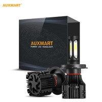 Auxmart H4 H7 H11 H13 9005 9006 80W LED Car Headlight Bulb Hi Lo Beam SMD