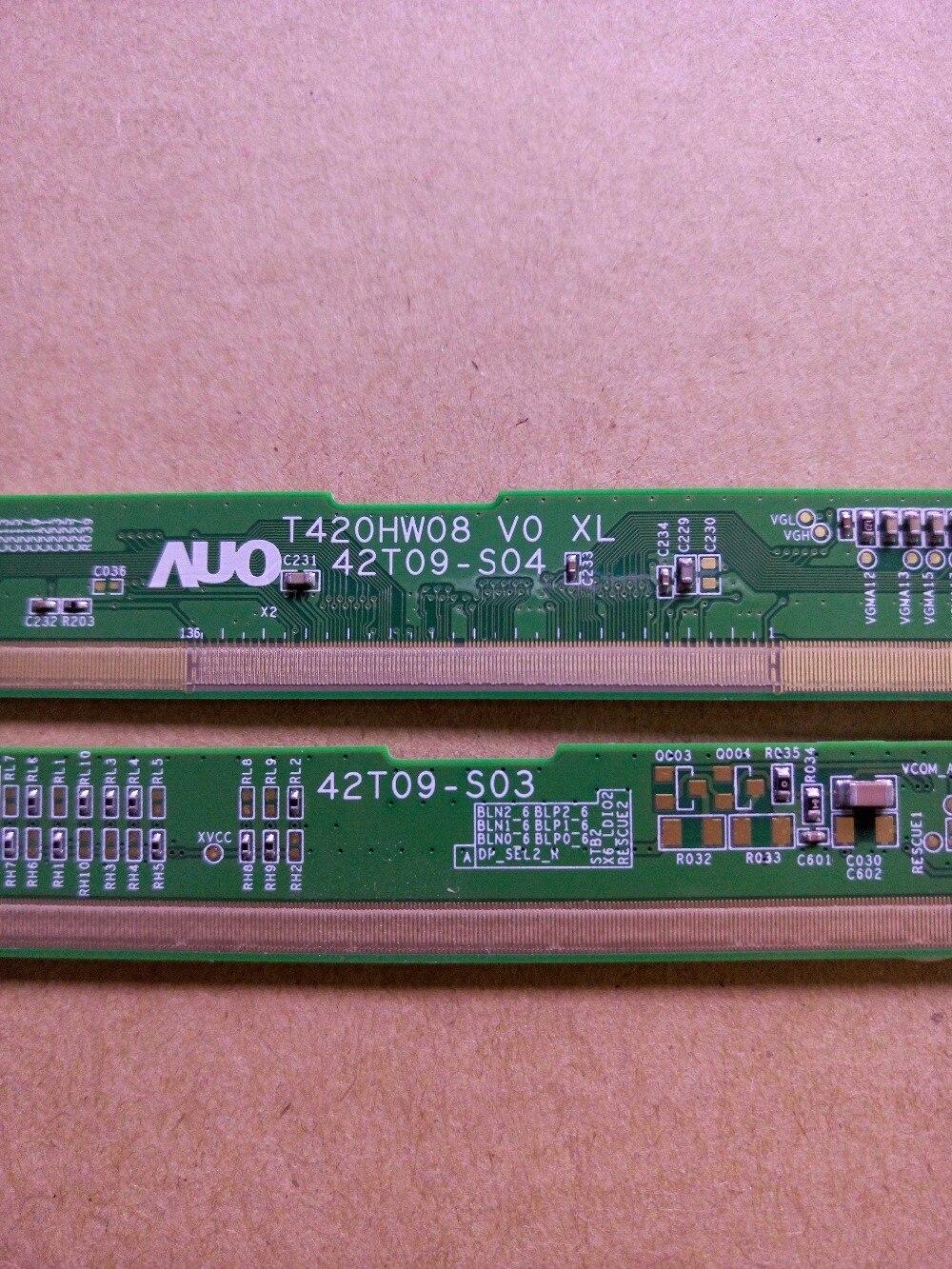 T420HW08 V0 XL/XR 42T09-S04/42T09-S03 LCD Panel PCB Part A Pair