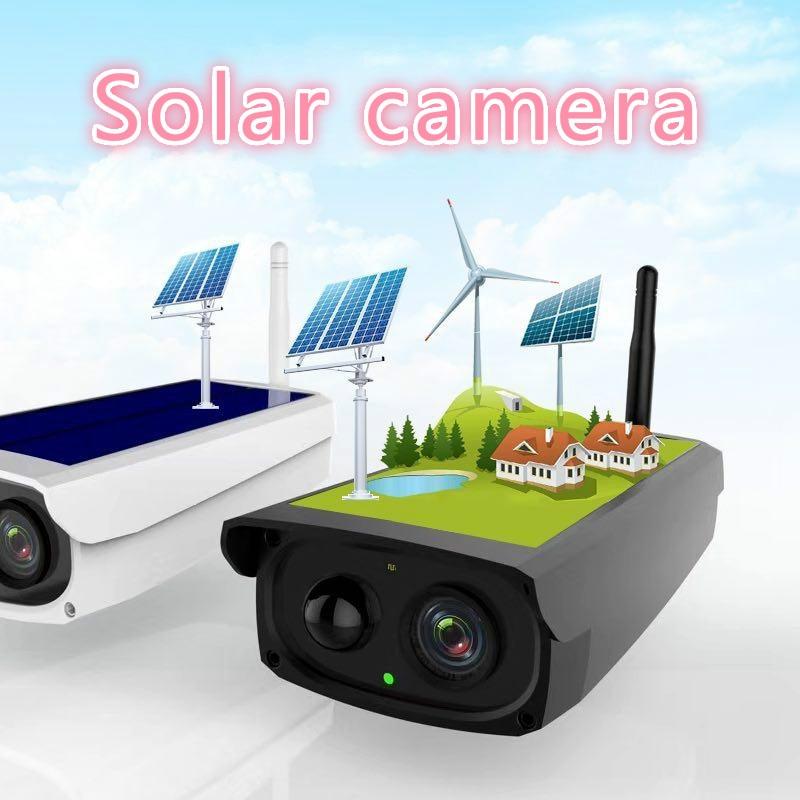 2MP 1080 P étanche WIFI extérieur sans fil avec 7800mA batterie solaire Surveillance de sécurité CCTV caméra enregistreur vidéo