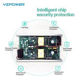 Image 3 - YZPOWER cargador de batería Li ion, CE Rohs 16S 67,2 V 7A 7.5A 8A 8.5A 9A 9.5A 10A, 60V