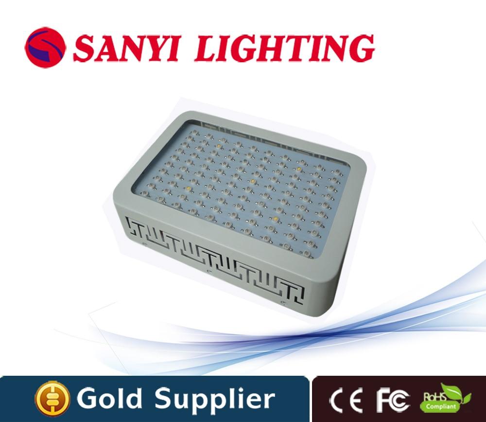 Led Grow Light 100W(100 Leds) 12 Spectrum Red Blue Orange White Uv Ir For Flower Vegetabling Lights And Lighting