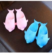 Children Dolphin shape Slippers Novel Kids Slides Girls Summer Breathable Beach Shoes Baby PVC