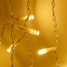 Best Outdoor Decoration Curtain Icicle Led String Lights