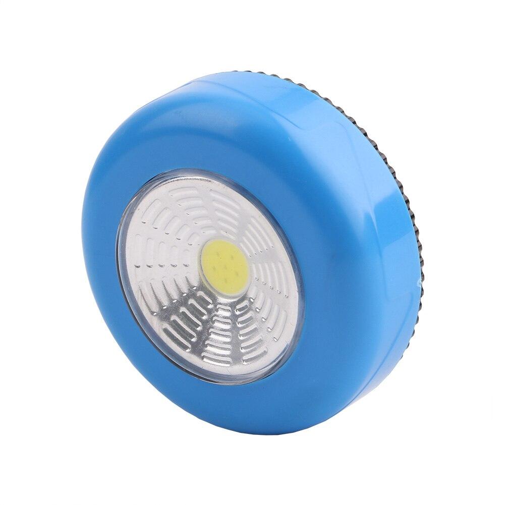 Image 4 - Super Bright Portable COB LED Night Light Flashlight Work Light Torch Lamp Energy Saving Camping Night Lamp Use 3*AAA Batteries-in LED Night Lights from Lights & Lighting