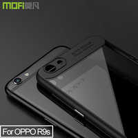 Oppo R9s F1s Case Back Cover Clear Case R9s F1s Luxury Matte Clear Back Case Cover