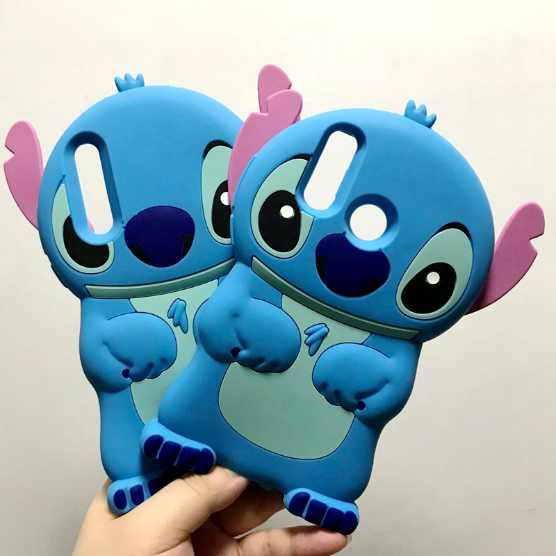 34edec78569 For Funda Huawei P20 Lite Case Silicon 3D Cute Blue Stitch Soft Cover Phone  Case For Coque Huawei P 20 P20 Pro Case Cover Capas