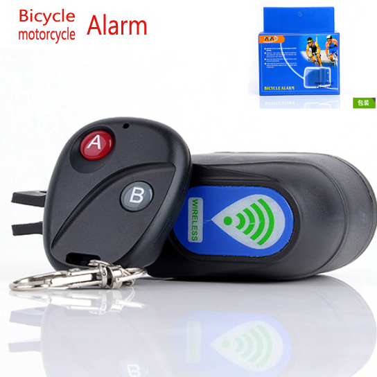 Top Quality Wireless Remote Motorcycle Security Alarm Security Bicycle  Lock Electric Dirt Bike  Anti-theft  Alarm Wholesale