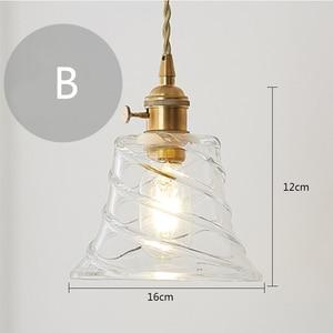 Image 3 - נורדי פשוט נחושת יחיד ראש יצירתי תליון אורות סלון חדר האמבטיה חדר שינה מסעדת קפה בר בגדים
