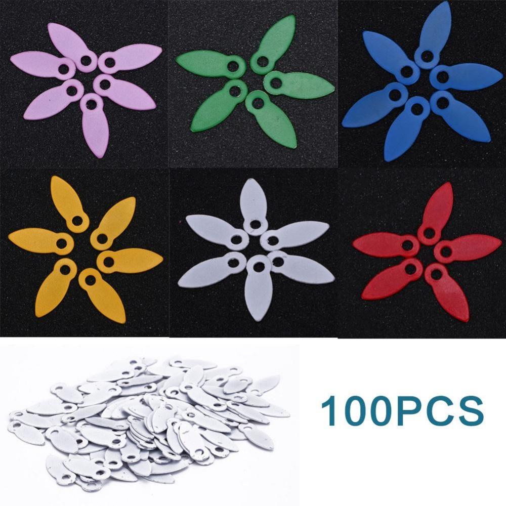 DIY 100 шт 17*7 мм вращающиеся Brads скрапбук отделка декором