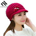 2017 Stylish Design Newest Winter Hat For Women Hat Female Caps Ladies Beret Hat  Variegated Cap Free Shipping