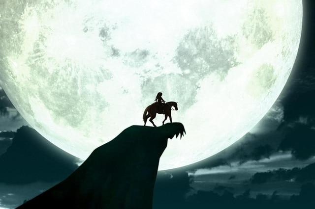 Бриллиант картина мультфильм Легенда о Зельде дыхание диких стен искусство картина искусство печать картина landschap домашний декор стен