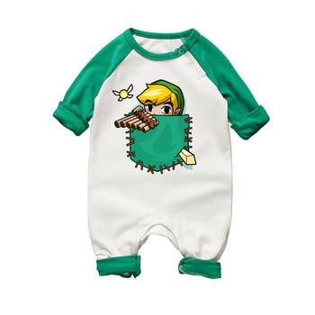 Barboteuse Bébé Coton La Légende de Zelda