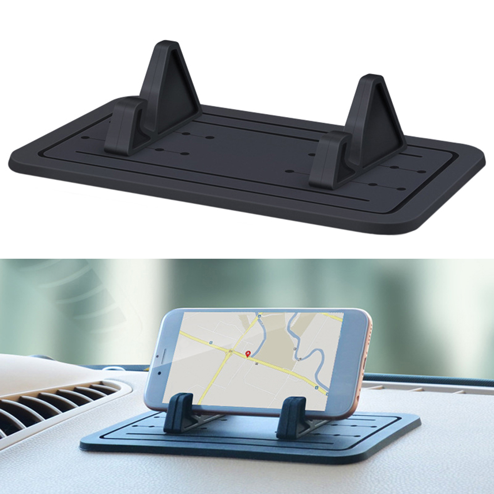 Adjustable Car Vehicle Dashboard Anti slip Silicone Mobile Phone Holder Stand in Universal Car Bracket from Automobiles Motorcycles