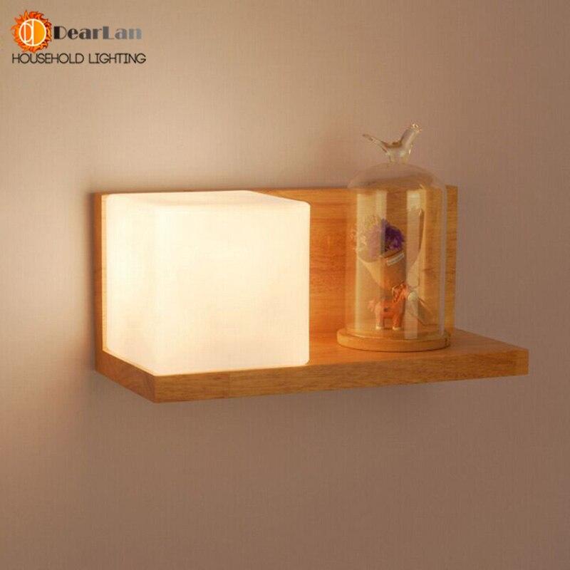 Online kopen wholesale houten wandlamp uit china houten wandlamp groothandel - Nachtkastje schans ...