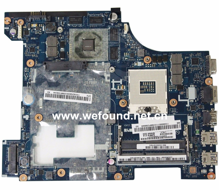 Laptop Motherboard For Lenovo G580 LA-7981P System Board Fully Tested
