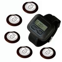 Singcall. беспроводного сервиса кнопка вызова системы для больницы, prison.5 шт белую кнопку вызова и 1 шт. наручные часы