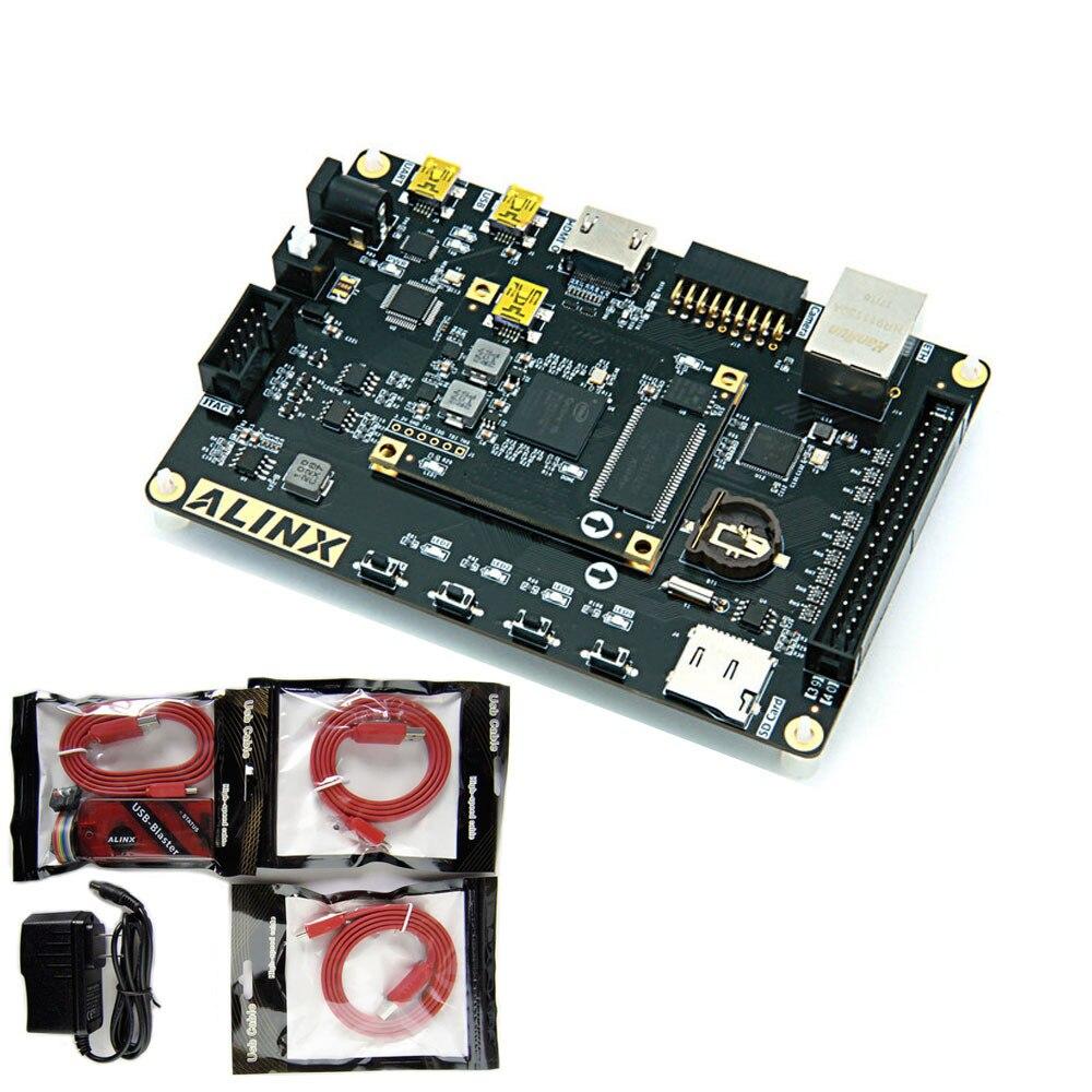 Intel Alter FPGA Cyclone 10 Cyclone10 FPGA 10CL006 Development Board 32MB SDRAM 1000M Ethernet And Xilinx Platform Cable USB