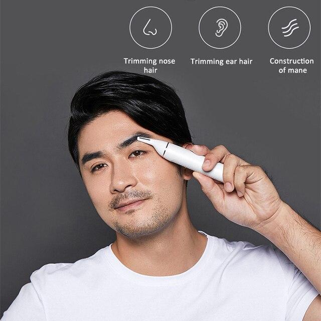 SOOCAS N1 Nose Hair Trimmer Electric Eyebrow Ear Hair Shaver for Xiaomi Razor men Portable Clipper