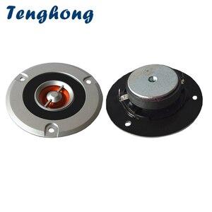 Image 1 - Tenghong 2pcs 3 אינץ הטוויטר 4Ohm 30W נייד אודיו טרבל רמקול יחידת צופר בית קולנוע רכב רמקול שינוי רמקולים