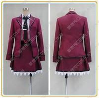 Game Anime DATE A LIVE Itsuka Kotori Cosplay Costume School Uniform Lolita Dress S 2XL Custom