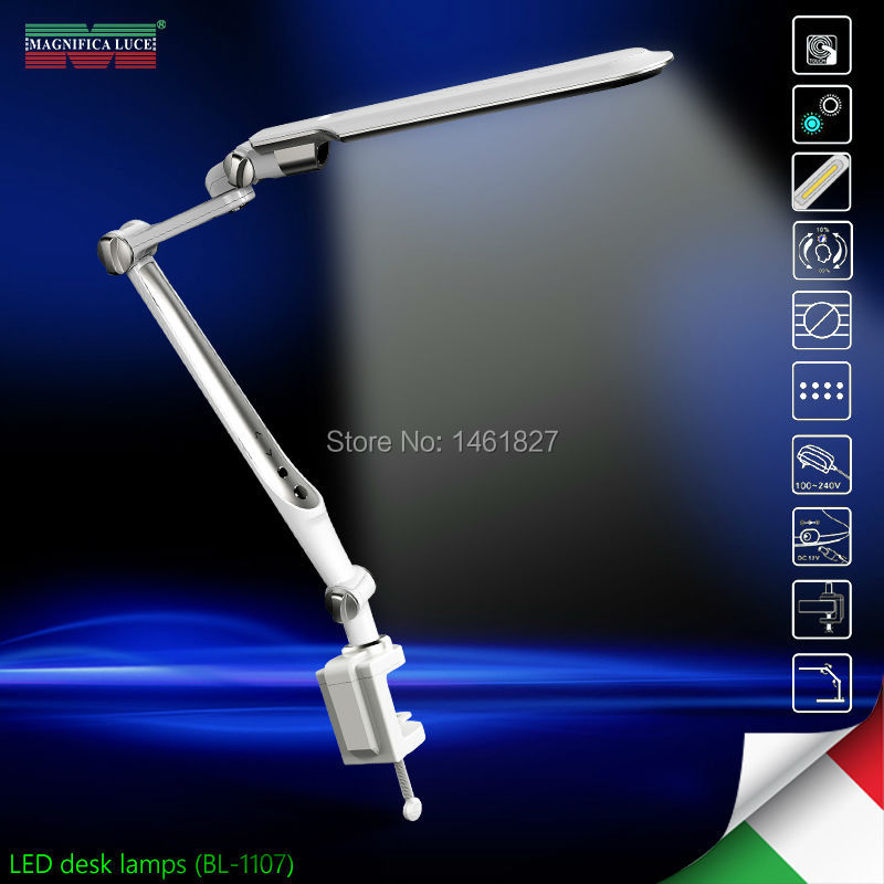 SL-TL316 LED Memory function10W LED Desk Lamps office table lamp student reading lamps fashion lights Free rotation Angle BL1107