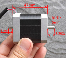 42 stepper motor 3D printer 2 phase 4-wire 0.8A synchronous with 1.8 degree step angle Torque 5kg.cm