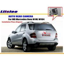 Для Mercedes-Benz M ml W164 заднего вида Камера/резервного Парковка Камера/HD CCD RCA ntst PAL/ Обратный отверстие oem