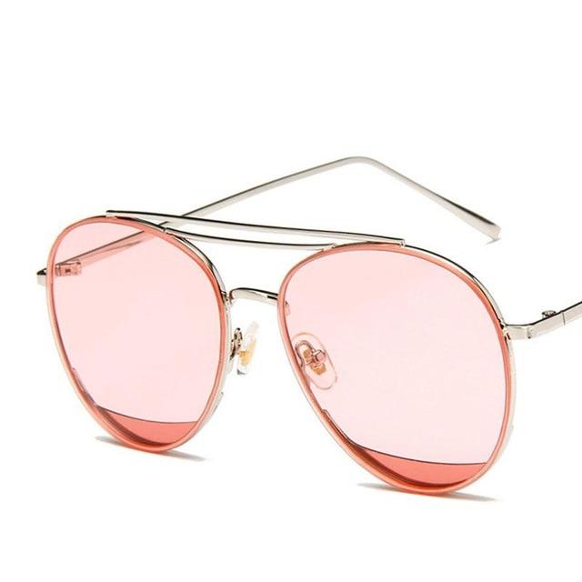 BYJ80 Women Sunglasses Fashion Plain Gla