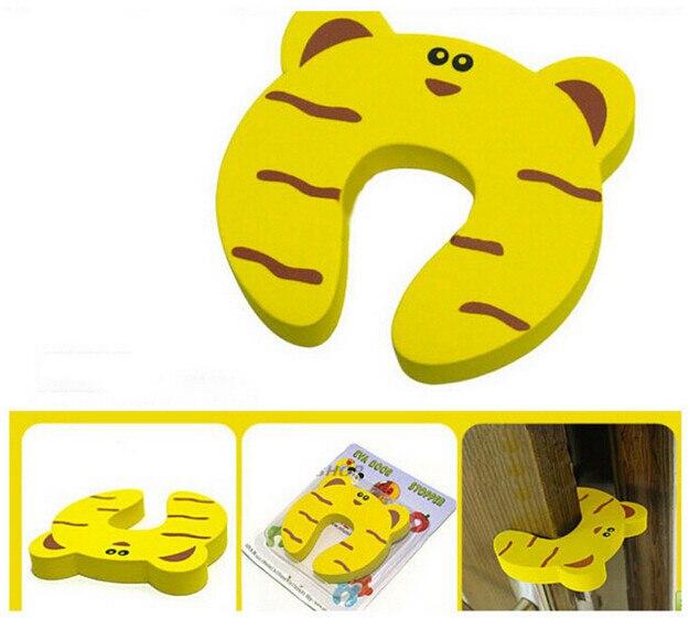 1 PCS Kids Cute Cartoon Animals Baby Infant Safety Protector Stopper Door Jammer Child Finger Corner Guard