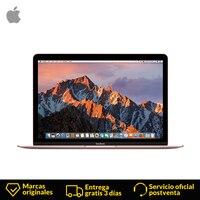 Apple MacBook 12 дюймов 7th gen Intel ноутбук и клавиатура с подсветкой ультра тетрадь 8 ГБ 512 экран нетбук ноутбук тетрадь компьютер