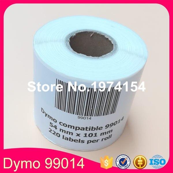 100 Rolls Dymo Label 99014 Etiketten 54x101mm for LW450Turbo