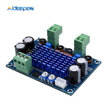 High Power Digital HIFI Power Amplifier Board 2*120W XH-M572 TPA3116D2 Chassis Dedicated Plug-in Input 5V 24V 28V output 120W assembled tda8950 amplifier board 120w 120w with upc1237 speaker protection yj