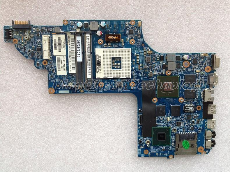 SHELI laptop Motherboard For hp DV6-7000 682175-001 685561-001 for intel cpu with 8 video chips non-integrated graphics card