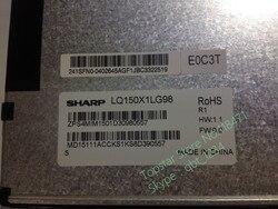 الأصلي LQ150X1LG98 lcd لشارب 12 أشهر الضمان