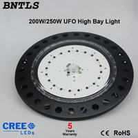 250W high power ufo led high bay light mining LED light VC 220V 240V industry led SMD led lamp