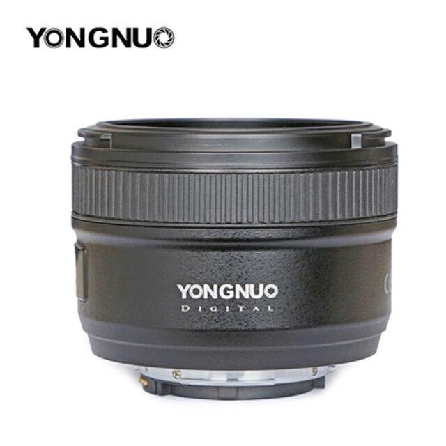 Original YONGNUO 50mm f1.8 Prime Camera Lens  Large Aperture Auto Focus for NIKON d5200 d3300 d5300 d90 d3100 d5100 s3300 d5000 4
