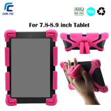 Chinfai Universal Silicone Case for Teclast 8.0 iPad mini 7.9 Huawei T3 8.0 Shockproof Cas