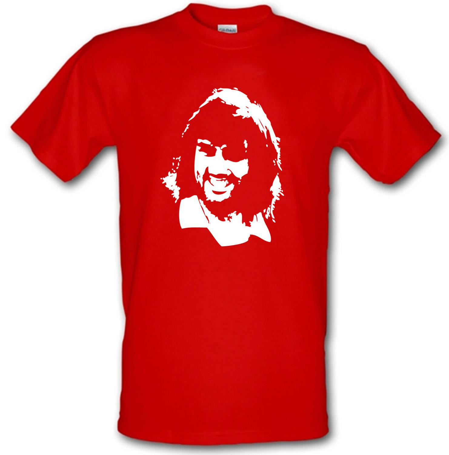 George Best Manchester Utd Football Legend Heavy Cotton T-Shirt brand Clothes Summer 2019 O-Neck Men'S Top Tee Awesome Shirts image