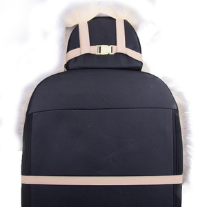 Image 3 - KAWOSEN 2 pcs/set Long Faux Fur Seat Cover, Universal Artificial Plush Car Seat Covers, 9 Color Cute Plush Seat Cushion LFFS02