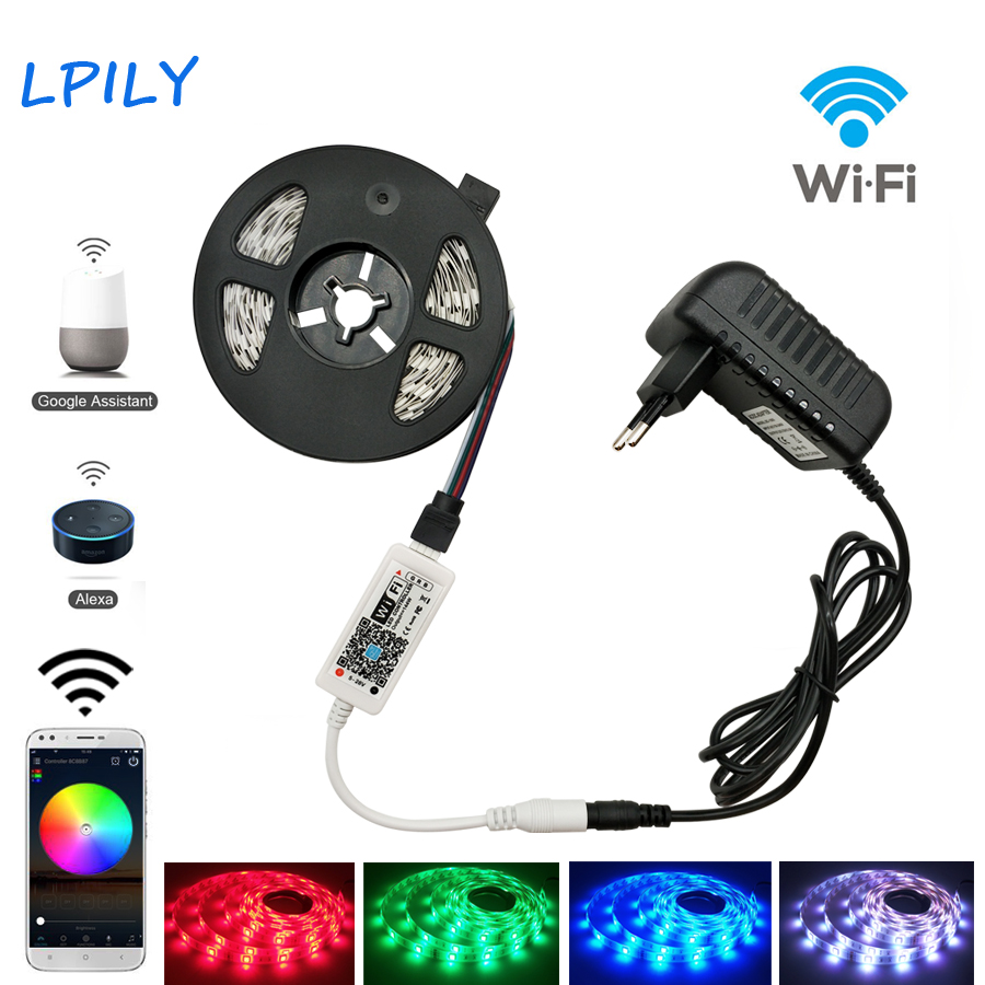 10m Waterproof Smart Wifi 5050 Rgb 150 Led Strip Lights