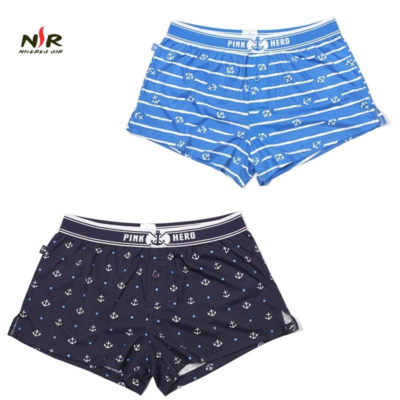 PINK HERO Shorts Mens 2Pcslot Best Selling Mens Underwear Boxers Modal Boxer Men Printed Boxer Shorts Boxers Mens Underwear