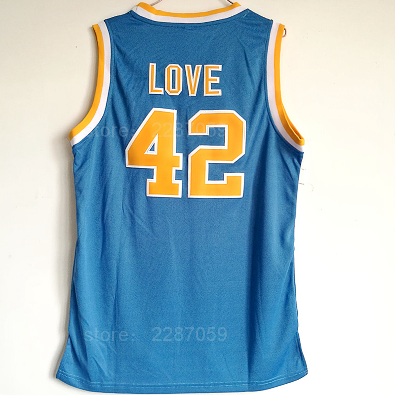 66e1cb19a8b ... wholesale ediwallen discount college basketball jerseys ucla bruins 42  kevin love jersey men blue for sport
