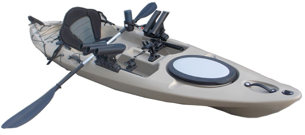 Buy fishing kayak yellow lldpe cheap boat for Fishing kayaks for sale cheap