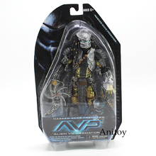NECA Alien vs. Predator Masked Scar Predator and Scar Predator PVC Action Figure Collectible Model Toy 21cm