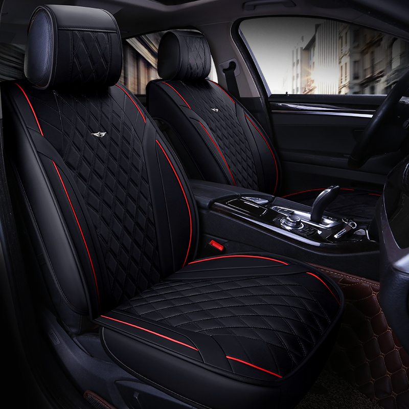 car seat cover vehicle chair leather case accessories for mercedes c class w202 w203 w204 w205 e class w210 w211 w212 w213
